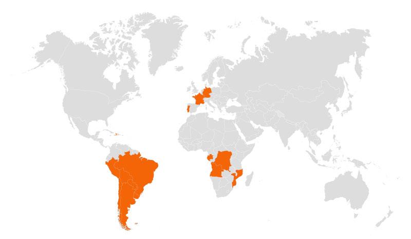 mapa clientes atendidos